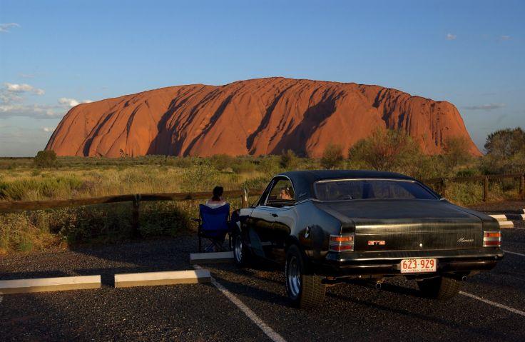 Ayers Rock - Parc National Uluru Kata Tjuta - Outback - Australie