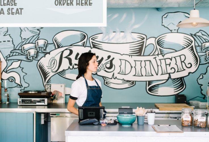 """Restaurant """"Ruby's Diner"""" - Sydney - Australie"""