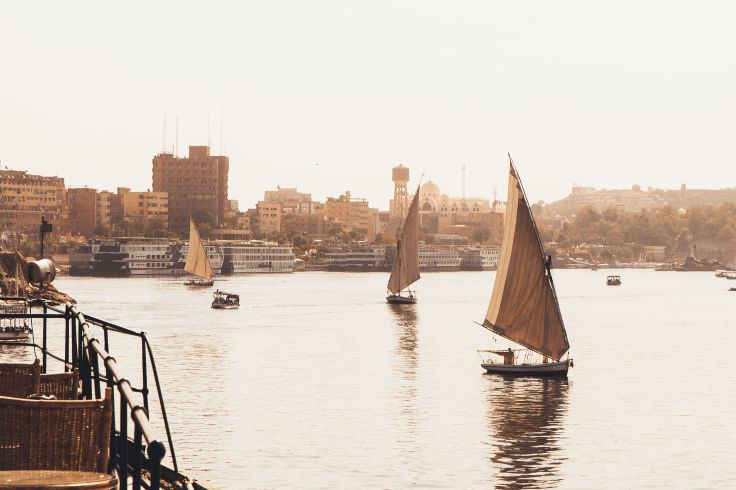 Steam Ship Sudan - Egypte