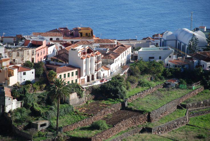 Le village d'Agulo - La Gomera - Iles Canaries