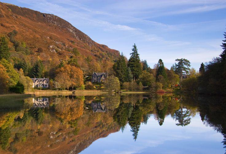 Loch Lomond - Ecosse - Royaume-Uni