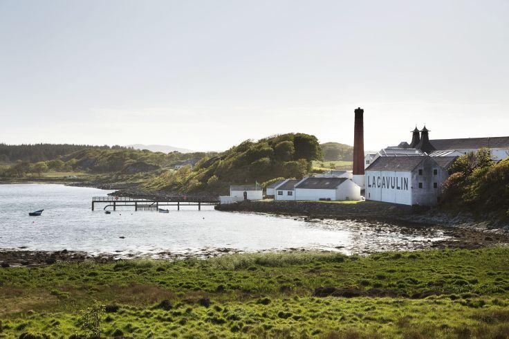 Distillerie Lagavulin - Islay - Écosse - Royaume-Uni