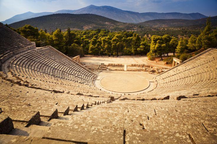 Théâtre d'Epidaure - Péloponnèse - Grèce