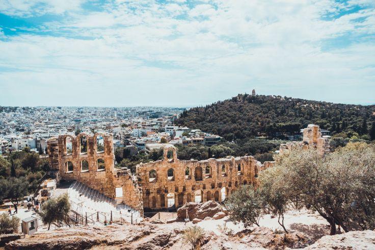 Théâtre d'Hérode Atticus - Athènes - Grèce