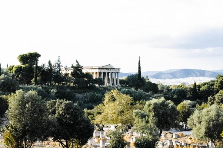 Temple d'Héphaïstéion - Athènes - Attique - Grèce
