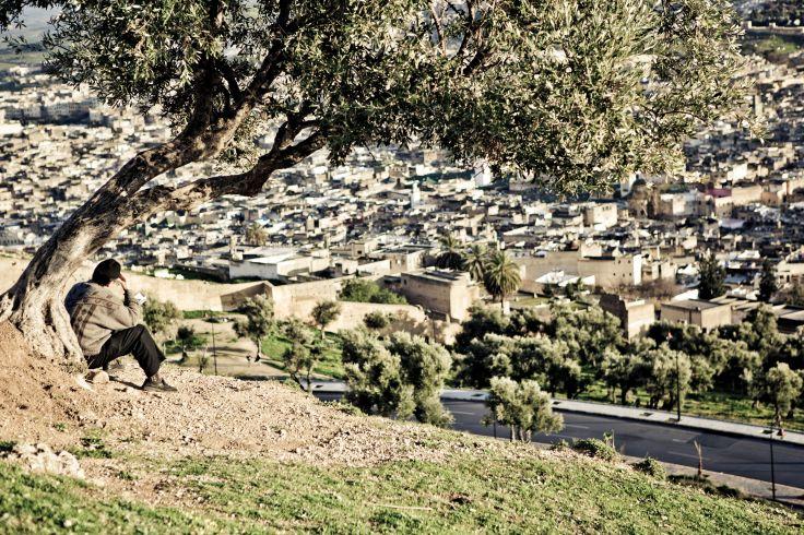 Fès entre médersa et foundouk - La ville impériale avec un fassi