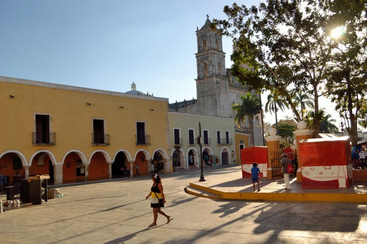 Dans les rues de Valladolid - Mexique