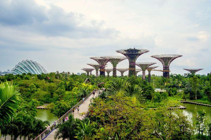 Singapour, Java, Bali - Fusion food, temples et plages