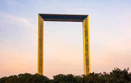 Le Dubai Frame, point de vue unique